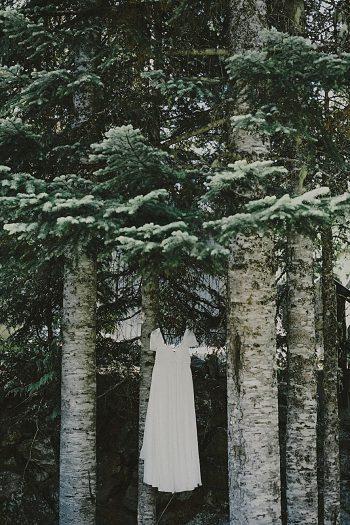 custom bridal gown | Whistler wedding | Tomasz Wagner