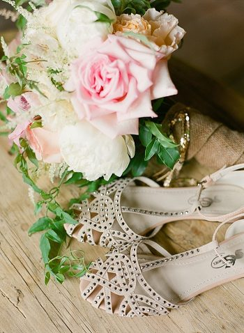 lovely shoes Devils Thumb Ranch Wedding Laura Murray
