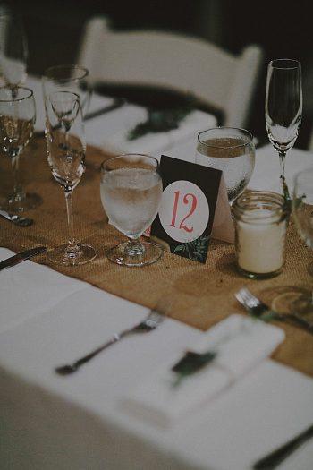 wedding table card | Whistler wedding | Tomasz Wagne