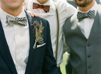 grooms men Devils Thumb Ranch Wedding Laura Murray
