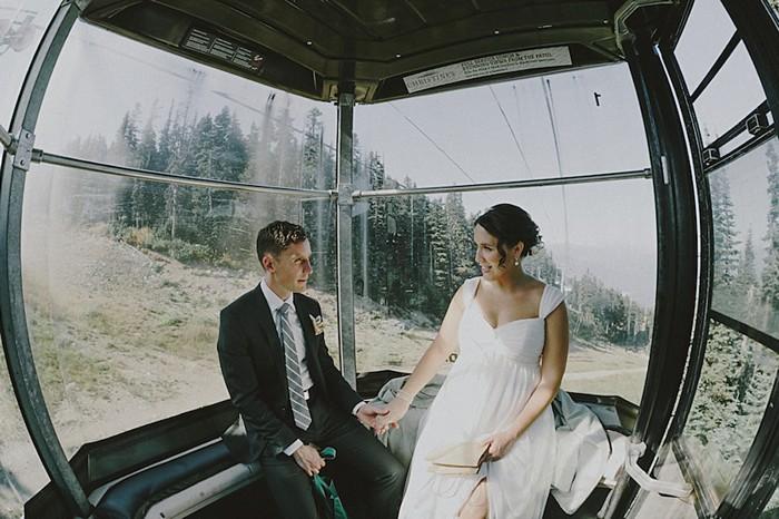 whistler gondola | Whistler wedding | Tomasz Wagne