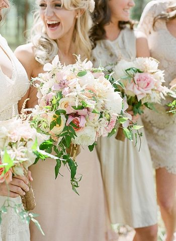 bouquets Devils Thumb Ranch Wedding Laura Murray