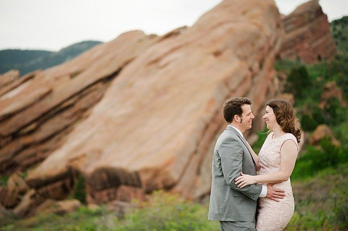 Red Rocks Colorado Engagement by Jamison Gale Photography