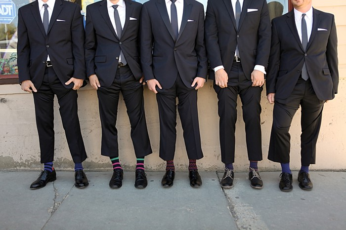 Groomsmens socks | Deer Valley Utah Wedding | Pepper Nix Photography