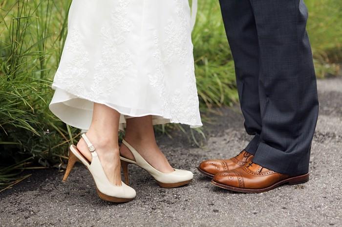wedding shoes | Snowbird Utah Wedding Logan Walker Photography