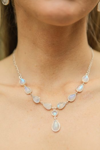 bridal necklace | Snowbird Utah Wedding Logan Walker Photography