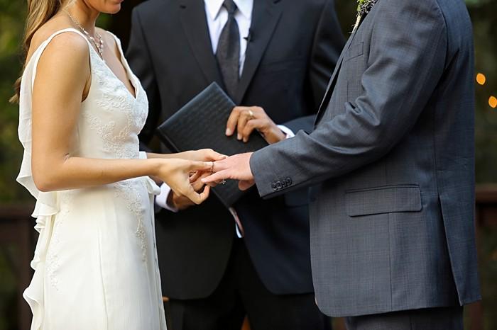ceremony | Snowbird Utah Wedding Logan Walker Photography