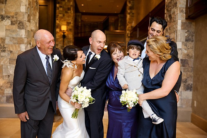 wedding party   Deer Valley Utah Wedding   Pepper Nix Photography