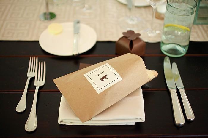 bread in a paper bag | Deer Valley Utah Wedding | Pepper Nix Photography
