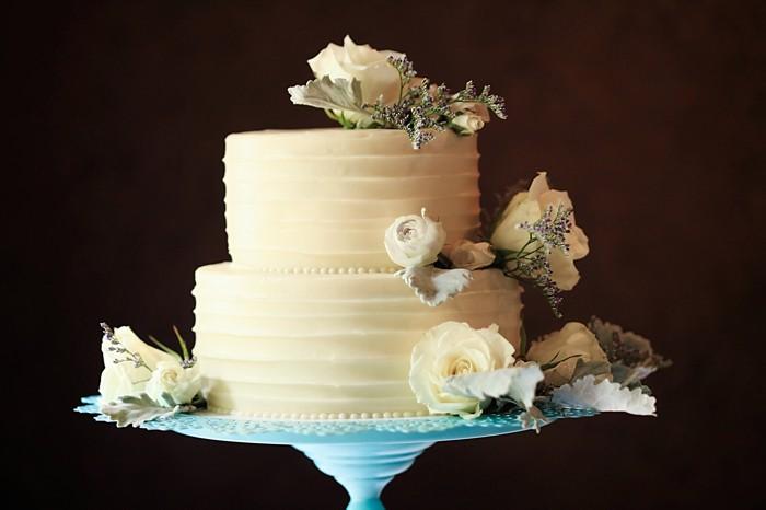 rustic wedding cake | Snowbird Utah Wedding Logan Walker Photography