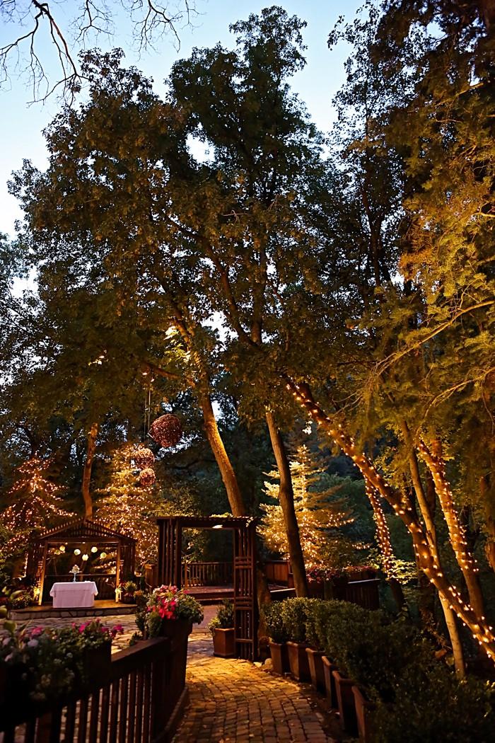 twinkle lights venue | Snowbird Utah Wedding Logan Walker Photography