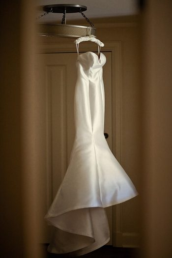 Trumpet wedding Gown | Deer Valley Utah Wedding | Pepper Nix Photography