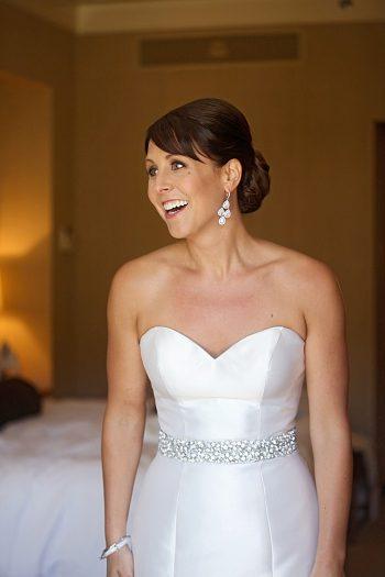 bride smiling | Deer Valley Utah Wedding | Pepper Nix Photography