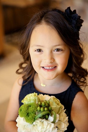 flower girl | Deer Valley Utah Wedding | Pepper Nix Photography