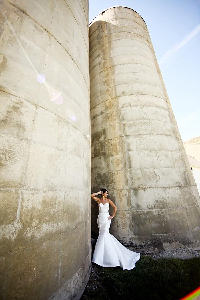 Bride portrait   Deer Valley Utah Wedding   Pepper Nix Photography