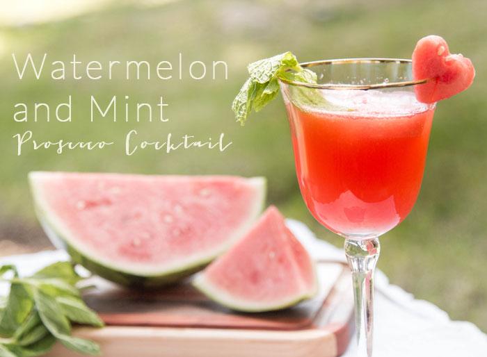 Watermelon + Mint Processo Cocktail