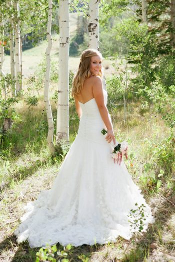 bride |Park City Luxury Home Wedding