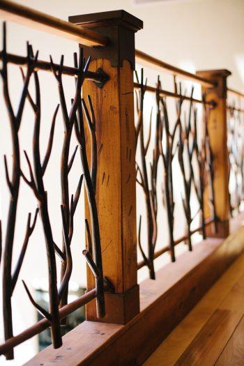railing | Park City Luxury Home Wedding