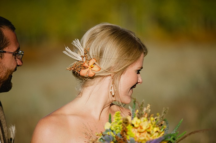 bride profile | steamboat springs wedding | Andy Barnhart