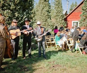 bluegrass band | steamboat springs wedding | Andy Barnhart