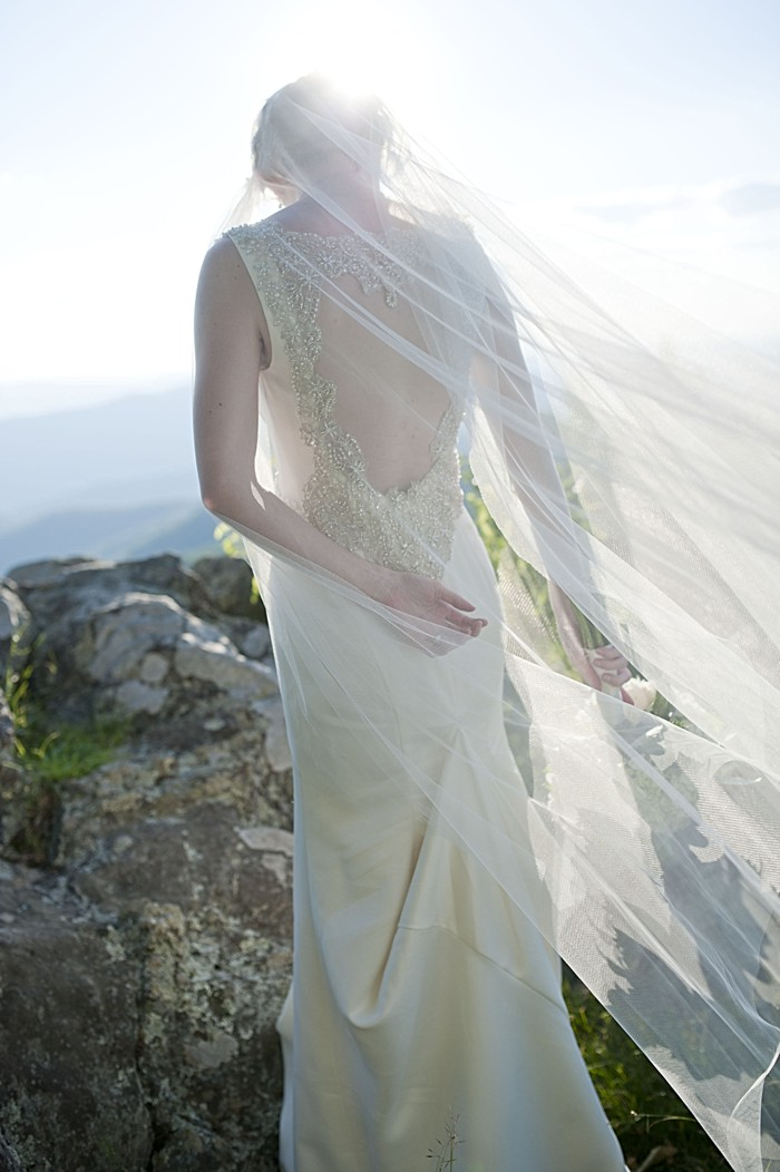 Military Style Mountain elopement   by Dani White Photography