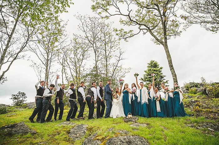 | Forest wedding in western North Carolina | Tesar Photography