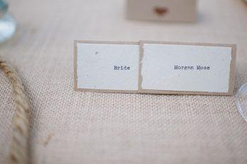 placecard bride | steamboat springs wedding | Andy Barnhart