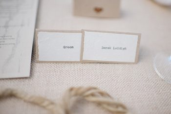 placecard groom | steamboat springs wedding | Andy Barnhart