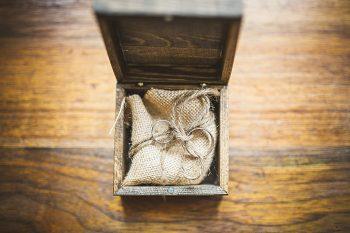 ring box   Forest wedding in western North Carolina   Tesar Photography