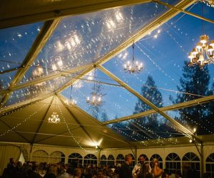 clear roof tent | steamboat springs wedding | Andy Barnhart