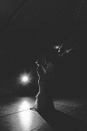 b+w kiss 1 | steamboat springs wedding | Andy Barnhart