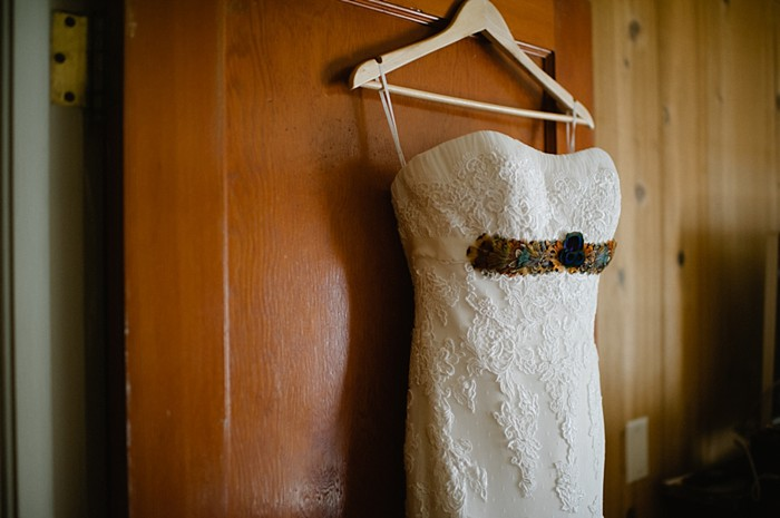 gown | fall steamboat springs wedding | Andy Barnhart