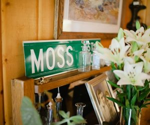 moss street sign | steamboat springs wedding | Andy Barnhart