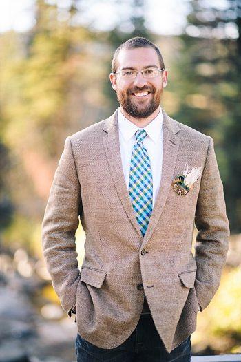 groom portrait | steamboat springs wedding | Andy Barnhart