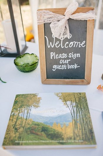 guest book | steamboat springs wedding | Andy Barnhart