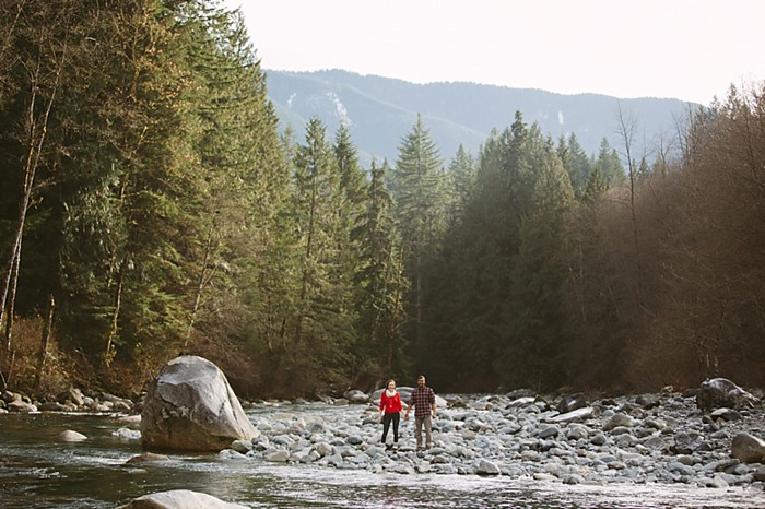 British Columbia Forest Engagement | Simply Rose Photography
