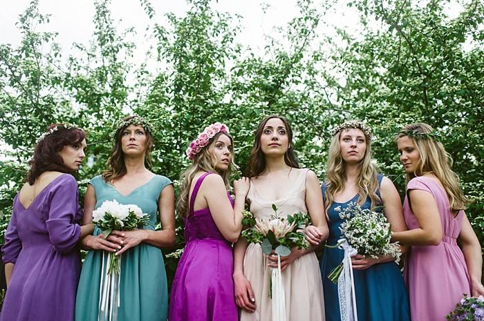 Durga Reversable Bridesmaid Dresses | Bohemian shoot