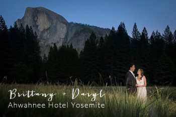 Half-dome Yosemte wedding | Jon M Photography