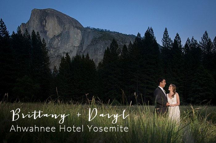 Half-dome Yosemte wedding | Jon M Photography