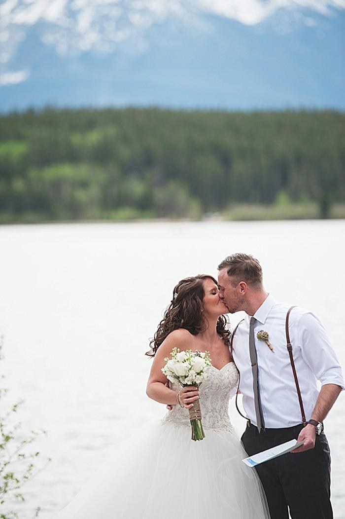 ceremony | Pyramid Lake wedding | Jarusha Brown Photography