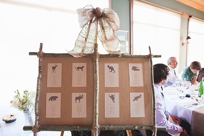 seating chart | Pyramid Lake wedding | Jarusha Brown Photography