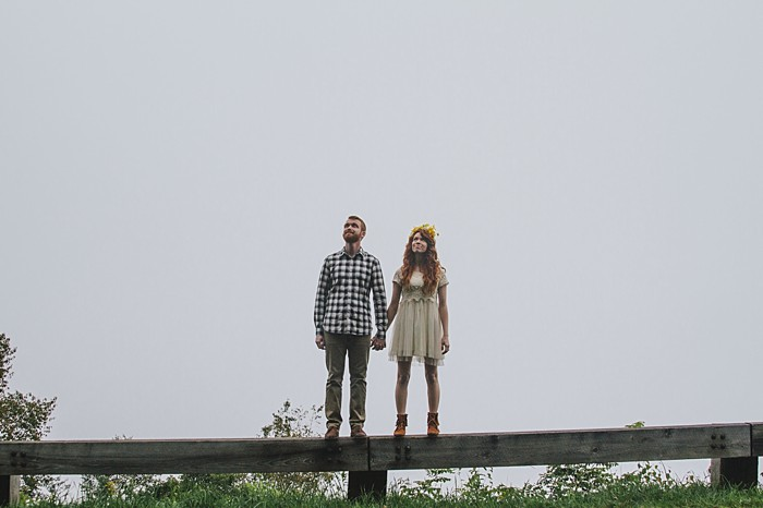 Blue Ridge Parkway Engagement Session | Fox Owl Studio