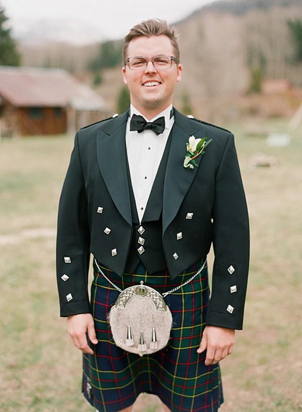 Groom's Kilt | Dunton Hot Springs Wedding |Laura Murray-0003