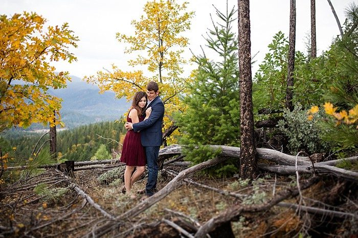 Mountaintop engagement | Lake Selmac | Nikita Lee Photography