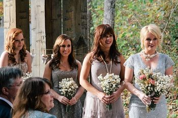 bridesmaids North Carolina ceremony venue | Photography by Fox Owl Studio