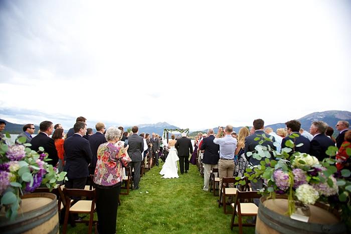 Colorado destination wedding in Dillion | Design by Elizabeth Events | Photography by Dawn Sparks