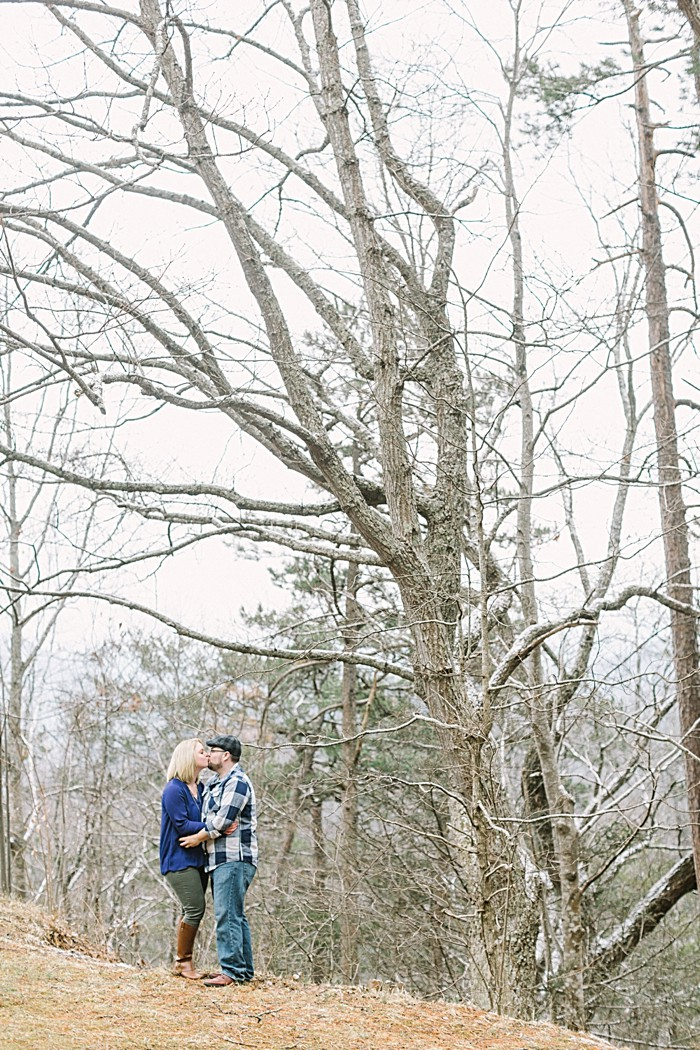 Appalachian fall engagement shoot by JoPhoto
