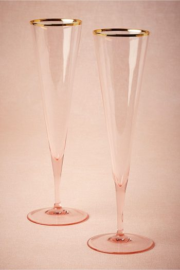Rosy Cheeked Flutes BHLDN