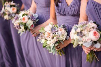 purple bridesmaid dresses | Breckenridge wedding at 10 Mile station |INphotography