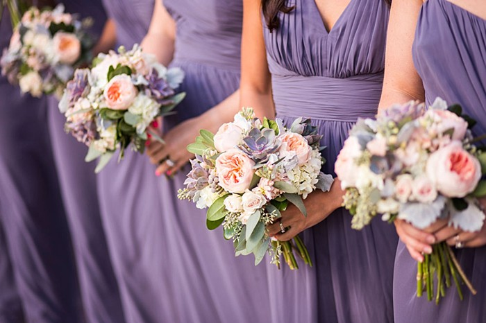 purple bridesmaid dresses | Breckenridge wedding at 10 Mile station |INphotography